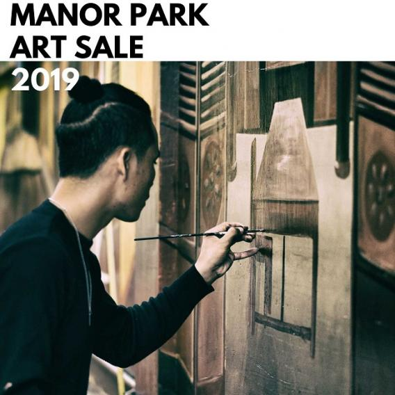 Art Sale in Manor Park Community Centre
