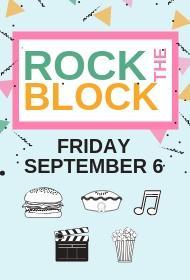 Rock the Block on September 6 2019